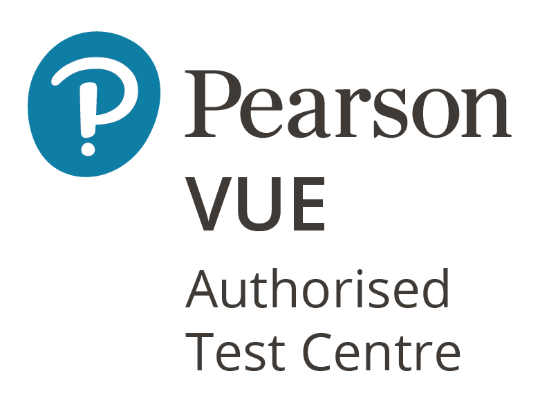 Pearson Vue Authorised Test Centre Logo