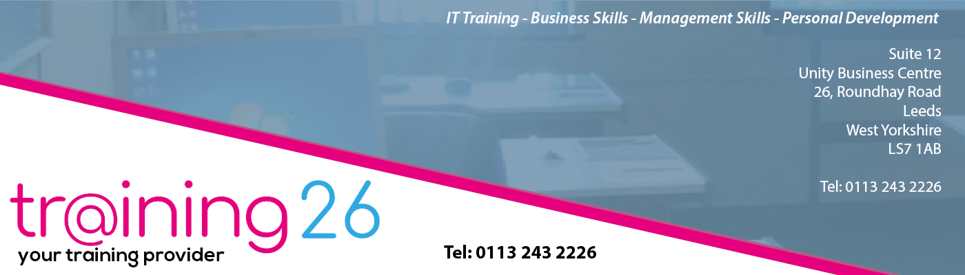 Training 26 – Your Training Partner